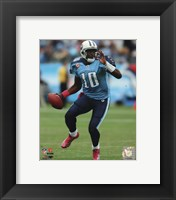 Framed Vince Young 2010 Action