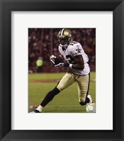 Framed Marques Colston 2010 Action