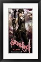 Sucker Punch - Blondie Framed Print