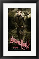Sucker Punch - Amber Framed Print