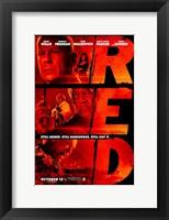 Framed Red - Still Armed