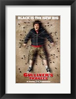 Framed Gulliver's Travels - man strapped to the floor