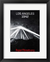 Battle: Los Angeles 1942 Framed Print