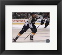 Framed Shea Weber 2010-11 Action