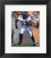 Framed Ray Lewis 2010 Action On The Run