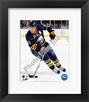 Framed Drew Stafford 2010-11 Action