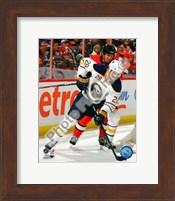 Framed Paul Gaustad 2010-11 Action