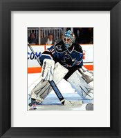 Framed Antti Niemi 2010-11 Action