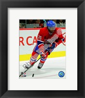 Framed P.K. Subban 2010-11 Action
