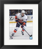 Framed John Tavares 2010-11 Action