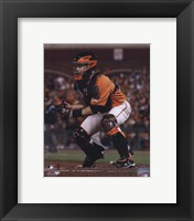 Framed Buster Posey 2010 Action