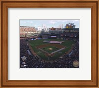 Framed Rangers Ballpark in Arlington Game Three of the 2010 World Series