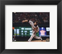 Framed Tim Lincecum Game Five of the 2010 World Series - Baseball