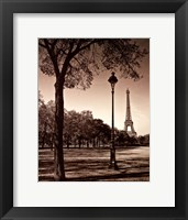 An Afternoon Stroll - Paris I Framed Print