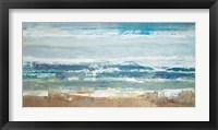 Framed Pastel Waves