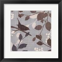 A Sparrow's Garden I Framed Print