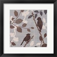 A Sparrow's Garden II Framed Print