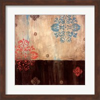 Framed Damask Patterns I