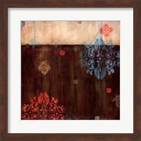 Framed Damask Patterns II