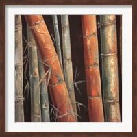 Framed Caribbean Bamboo II