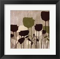 Framed Floral Simplicity I