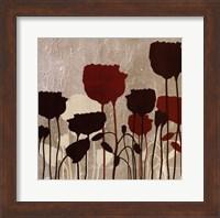 Framed Floral Simplicity V
