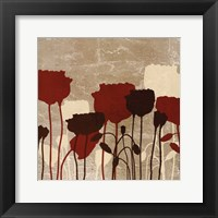 Framed Floral Simplicity VI