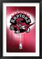 Framed Raptors - Logo 10