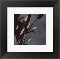 Fleu'ting Silhouettes I Framed Print