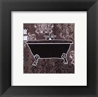 Framed Black & White Tub III