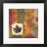 Framed Leaf Elements IV