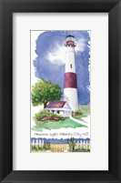 Absecon Light Lighthouse Framed Print