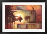 Framed Tropical Realm I