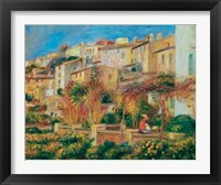 Framed Terrace at Cagnes