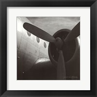 Framed Vintage Flight III