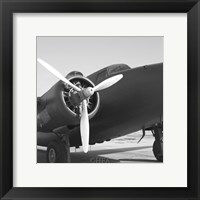 Framed Vintage Flight IV