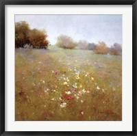 Framed Meadow in Summer