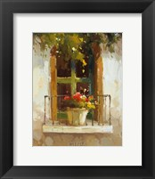 Framed Romantic Window II