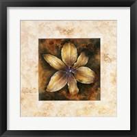 Framed Musical Flowers IV