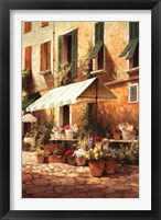 Framed Flower Seller