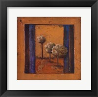 Lonely Trees II Framed Print