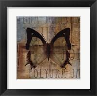 Polyurabutterfly I Framed Print