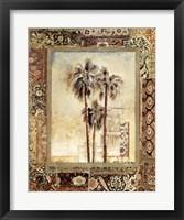 Framed Palmas I