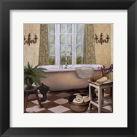 Framed French Bath I