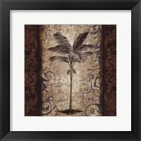 Framed Palm Square I