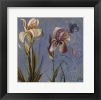 The Garden in Blue II Framed Print