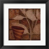 Framed Little Striped Vase II