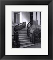 Framed Savannah Stairs I