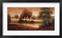 Gleam Landscaping Framed Print