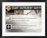 Framed Sharp Instrument Safety